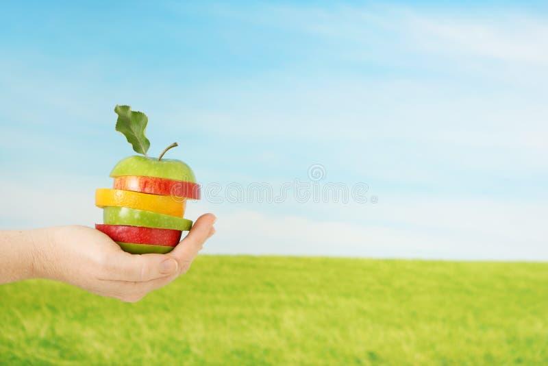 Toppen frukt arkivbild