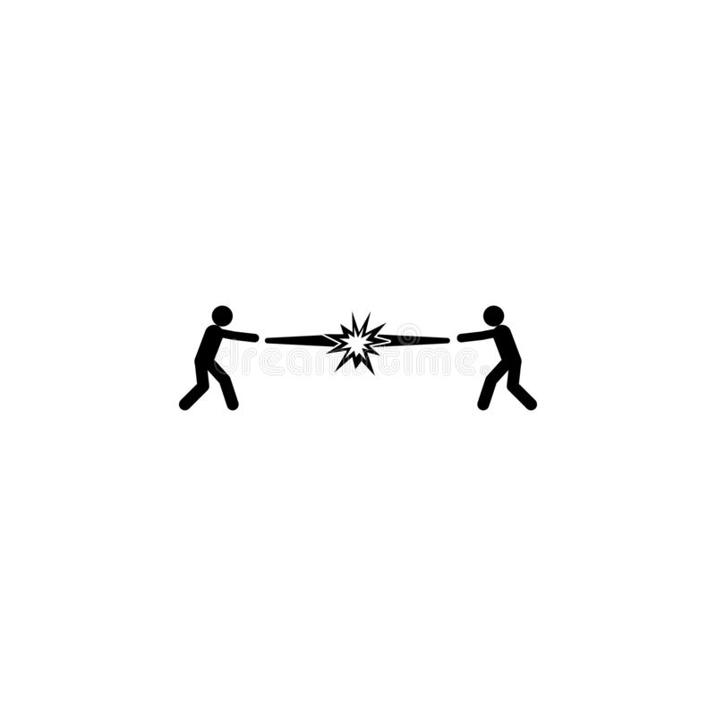 toppen makt, styrka, kampsymbol Beståndsdel av symbolen för toppen makt för mobila begrepps- och rengöringsdukapps Toppen makt fö vektor illustrationer