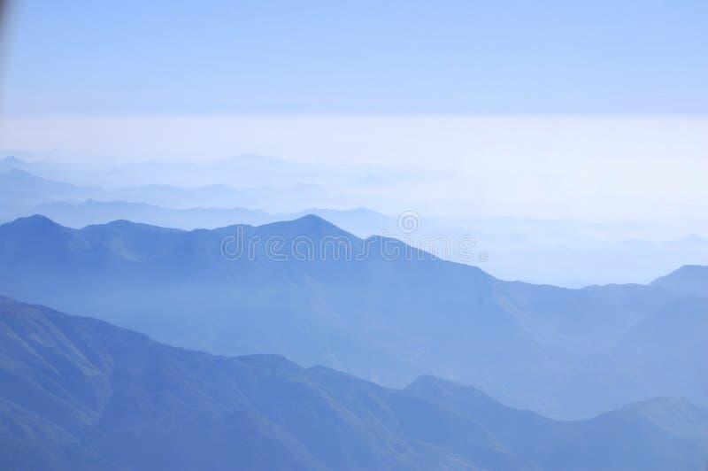 Toppig bergskedja Madre Occidental2 arkivbilder
