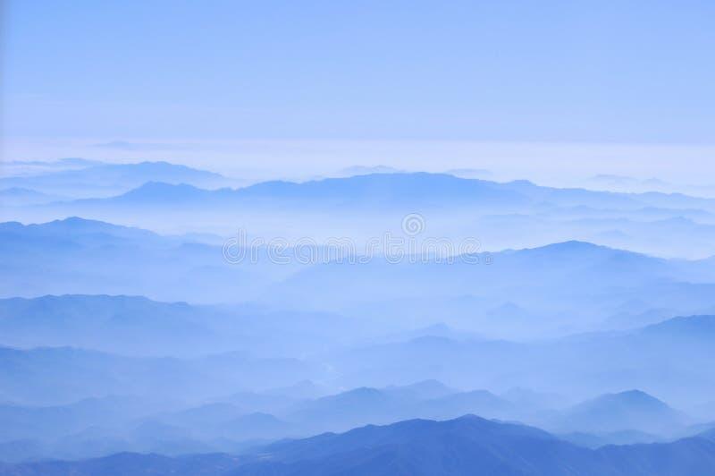 Toppig bergskedja Madre västerlänning arkivfoton
