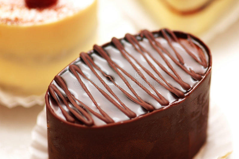 Download Topping Of Chocolate Cake Royalty Free Stock Photo - Image: 1954015