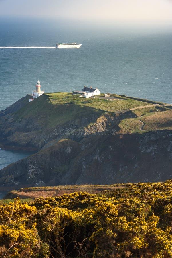 Toppmötepunkt, Howth Irland royaltyfri fotografi