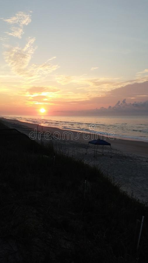 Topsail Island royalty free stock images