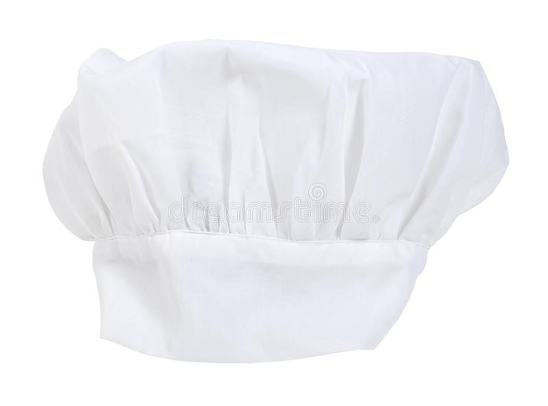 Toque Blanche Chef Hat royalty free stock photography