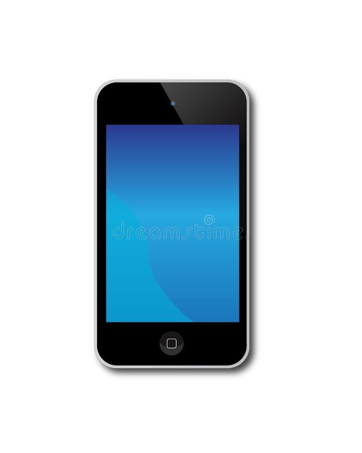 Toque de Apple IPod ilustração do vetor