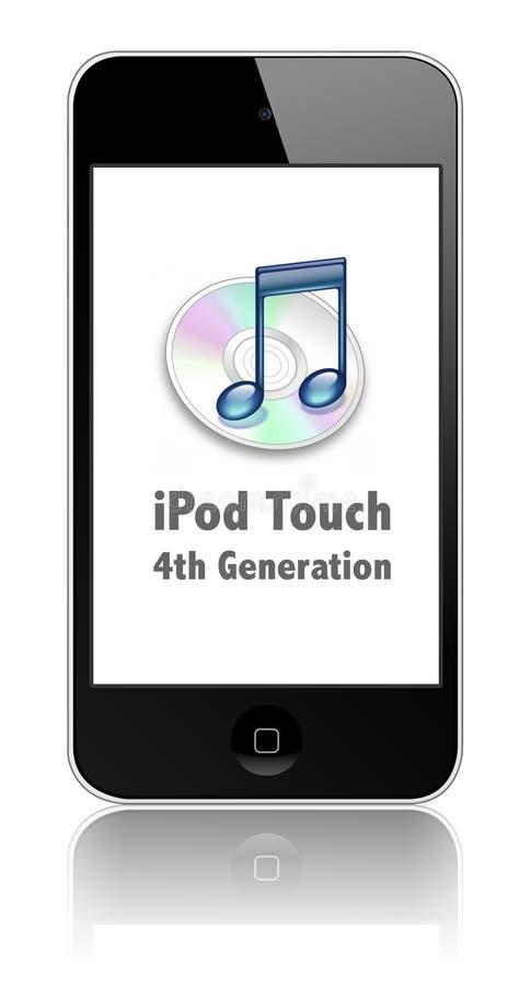 Toque novo de Apple iPod ilustração royalty free