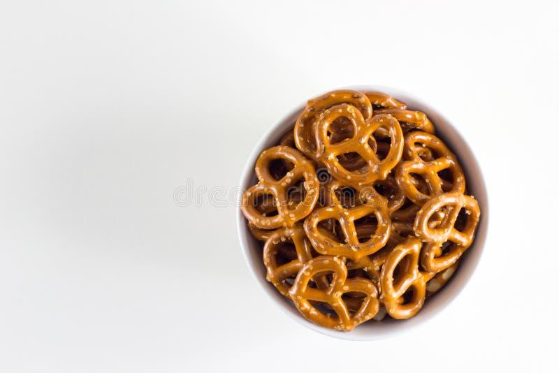 Torções do pretzel imagem de stock