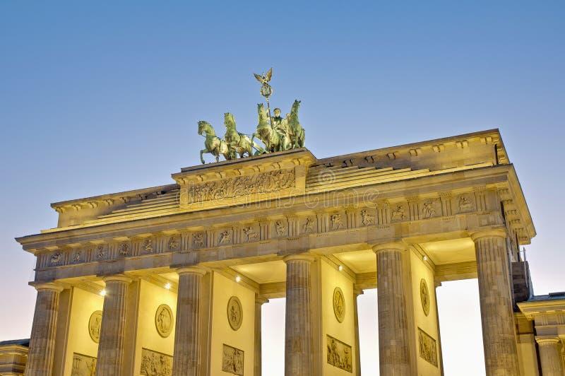 tor Германии brandenburger berlin стоковые изображения