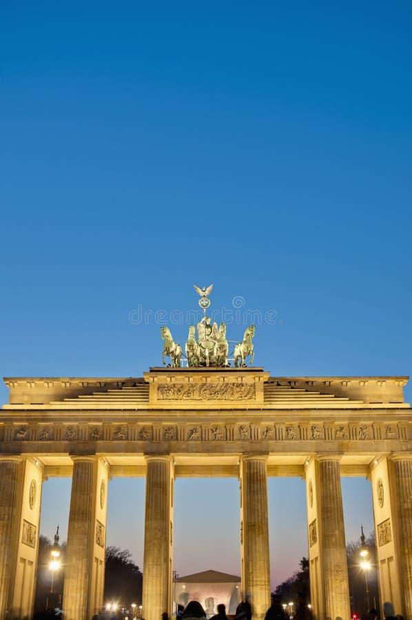 tor Германии brandenburger berlin стоковая фотография