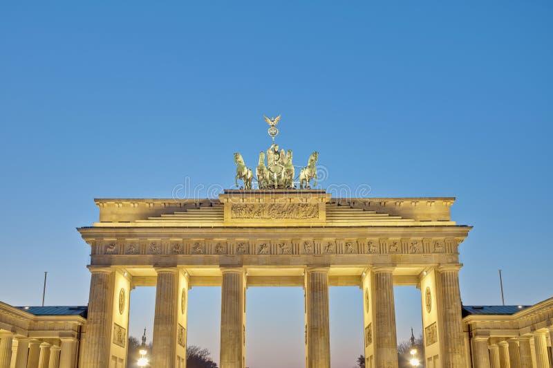 tor Германии brandenburger berlin стоковое изображение rf