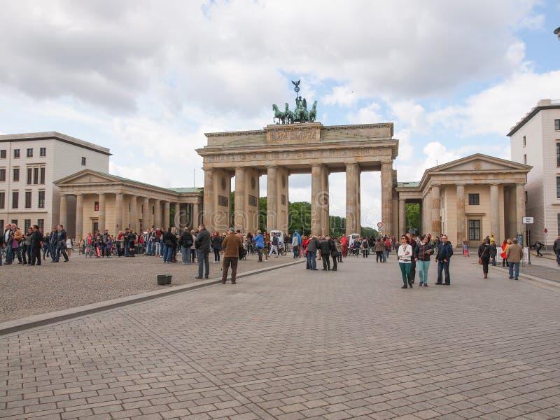 Tor Berlim de Brandenburger imagens de stock