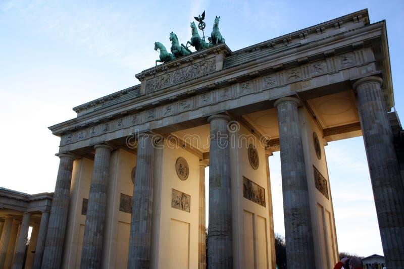 Tor Brandenburger стоковое фото