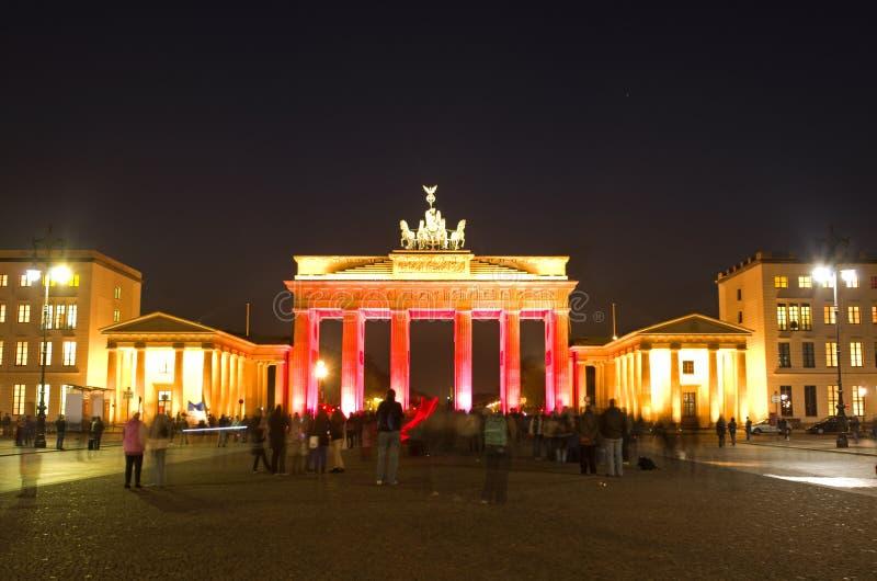 tor brandenburger berlin стоковая фотография rf