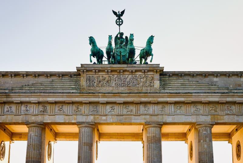 Tor de Brandenburger fotografia de stock