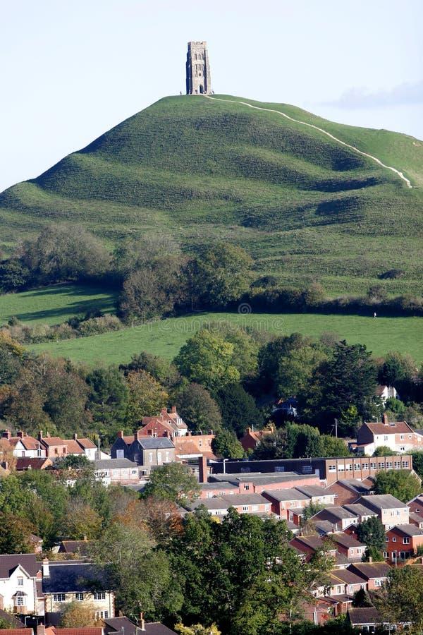 Tor de Glastonbury foto de stock royalty free