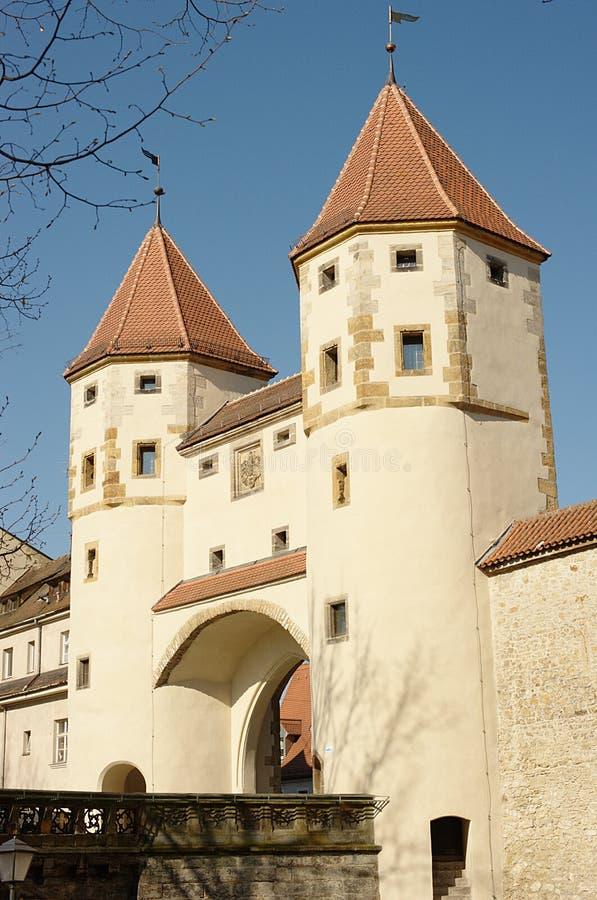 Tor de Nabburger (porta de Nabburg) foto de stock royalty free