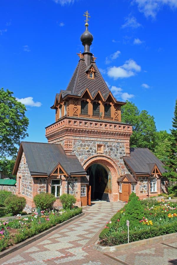 Tor des Klosters lizenzfreies stockfoto