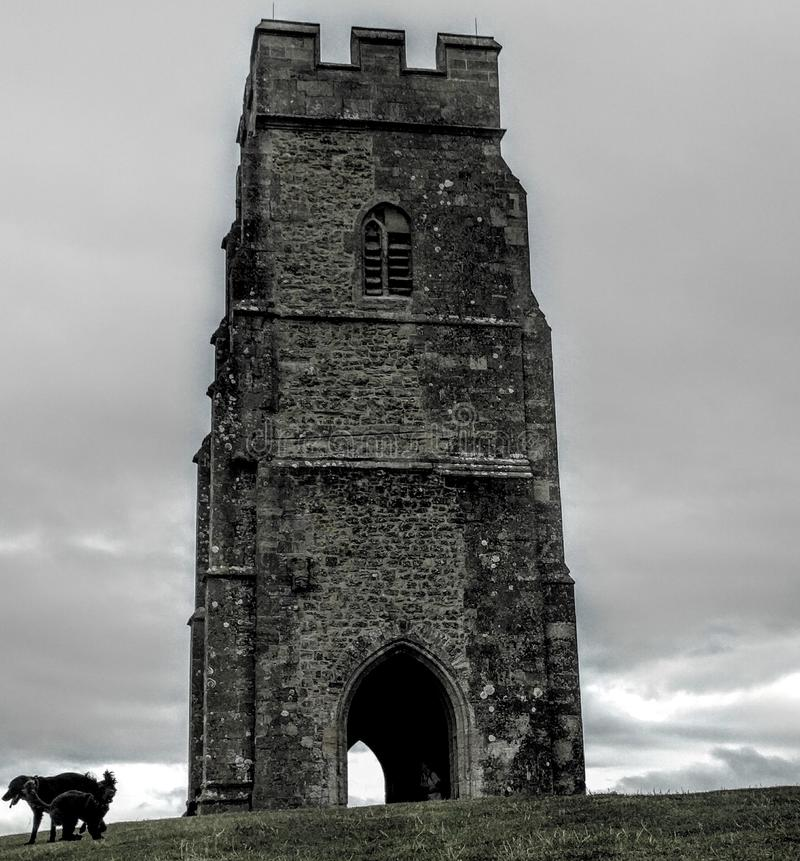 Tor di Glastonbury fotografie stock
