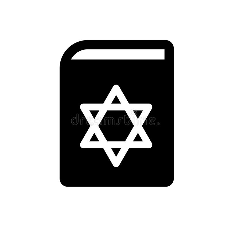 Torah Book icon. Trendy Torah Book logo concept on white background from Religion collection royalty free illustration