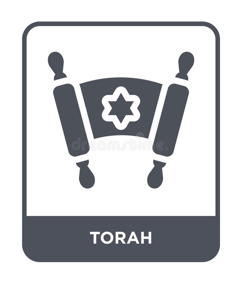 torah icon in trendy design style. torah icon isolated on white background. torah vector icon simple and modern flat symbol for stock illustration