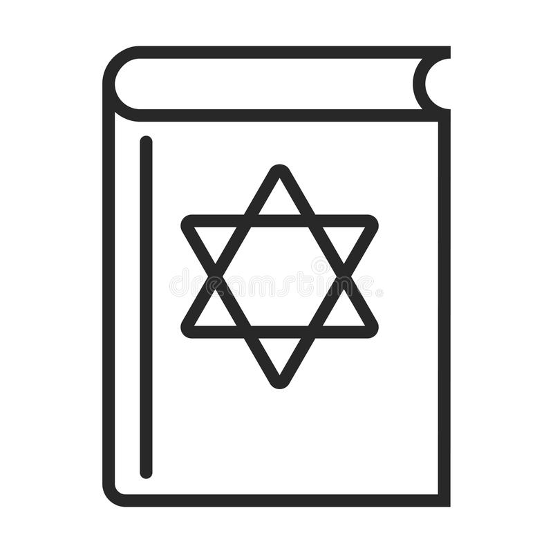 Torah-Ikone vektor abbildung