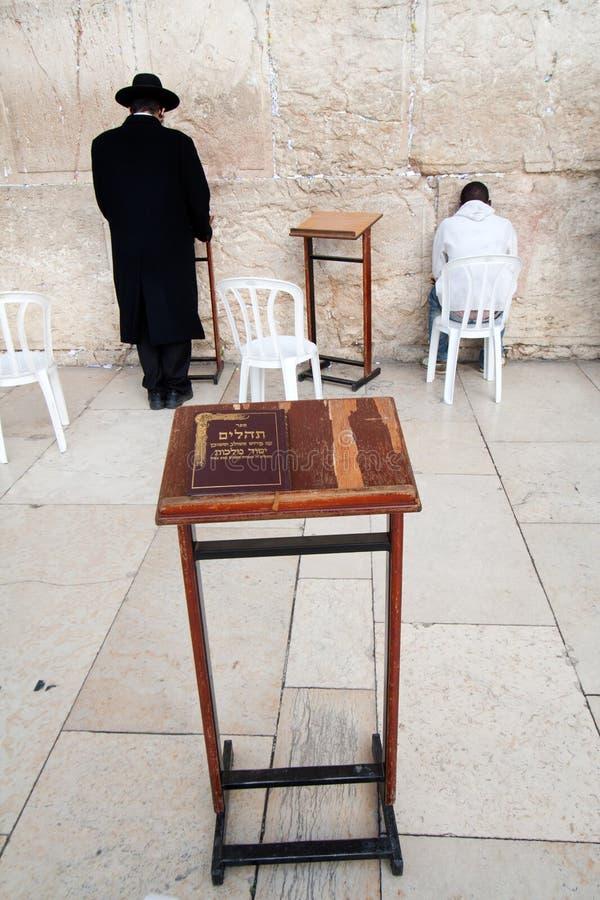 Torah At The Wailing Wall Royalty Free Stock Image