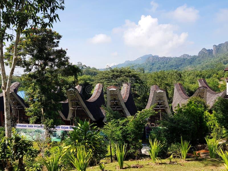 Toraja村庄 库存照片