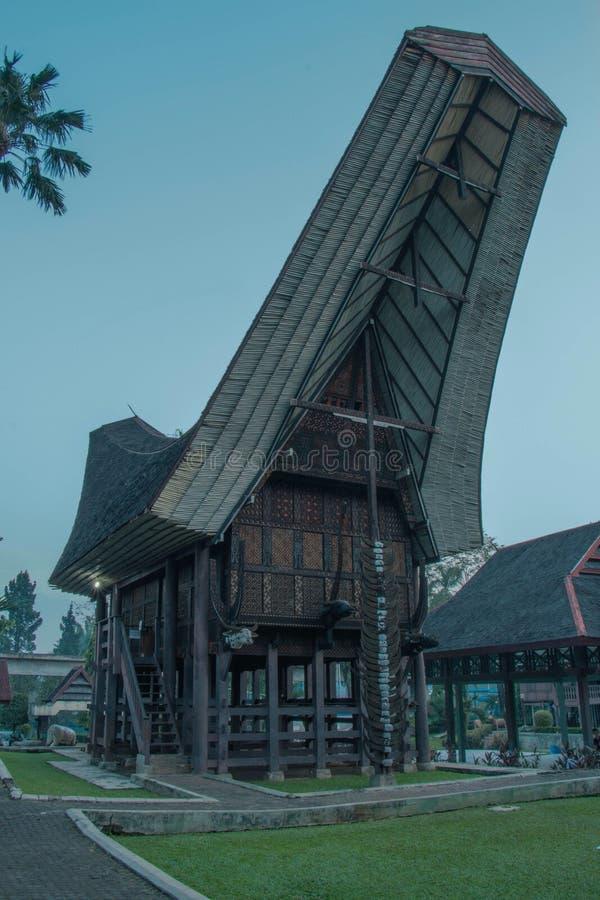 Toraja House. Toraja Ethnic House royalty free stock image