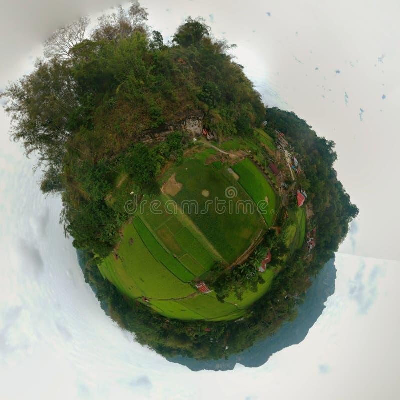 360 Toraja Lemo站点的图  库存图片