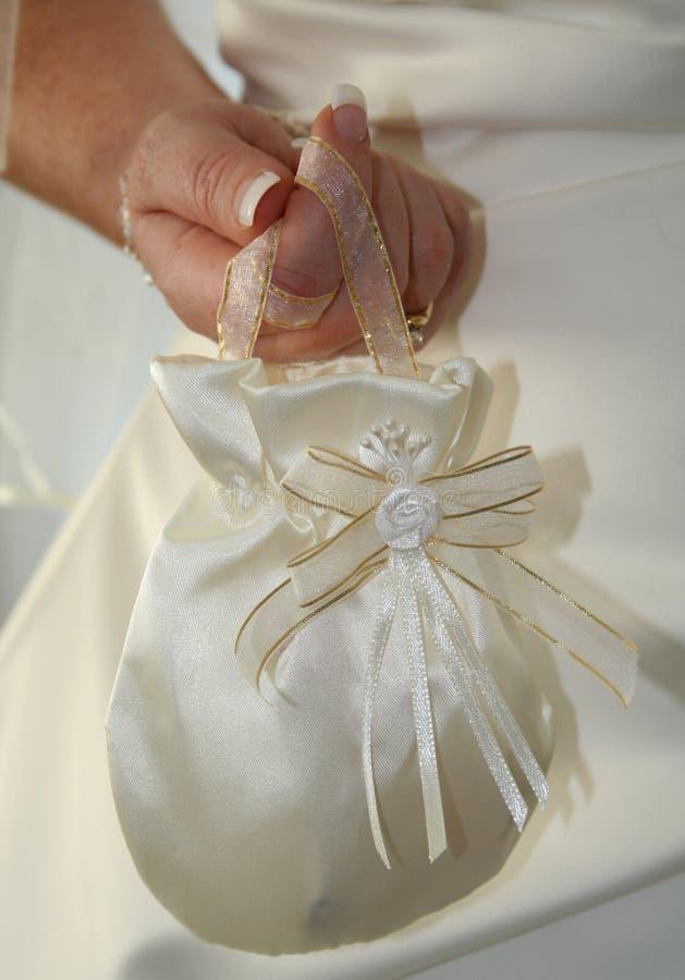 torba ślubnych zdjęcie stock