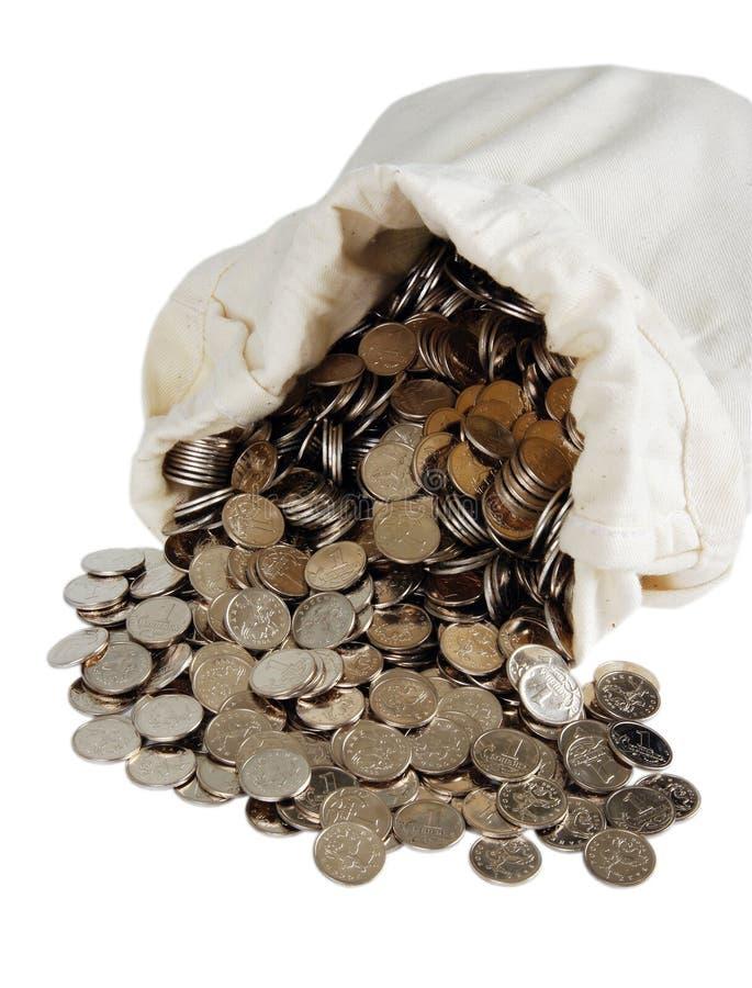 torba bank. obrazy royalty free
