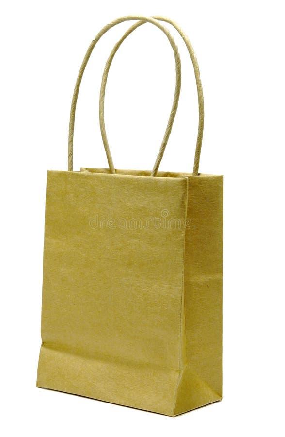 Download Torba brązowy papier zdjęcie stock. Obraz złożonej z zakupy - 132716