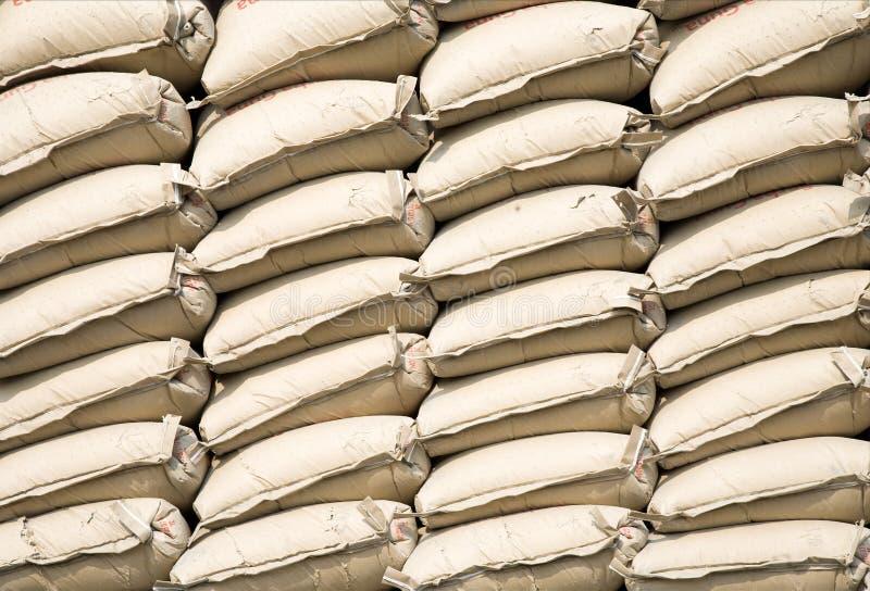 torba cement zdjęcie royalty free