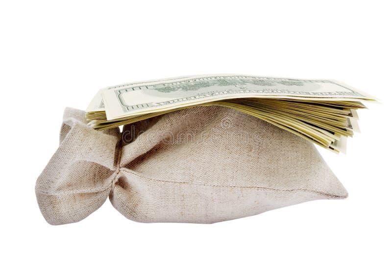 torba dolary zdjęcie royalty free