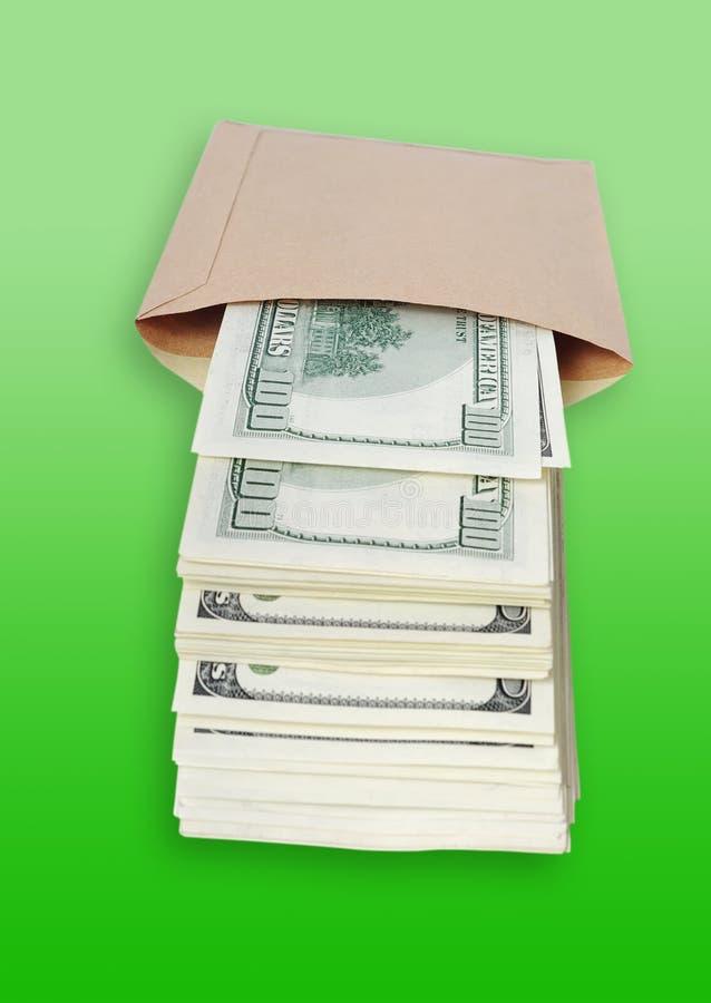 torba dolary fotografia stock