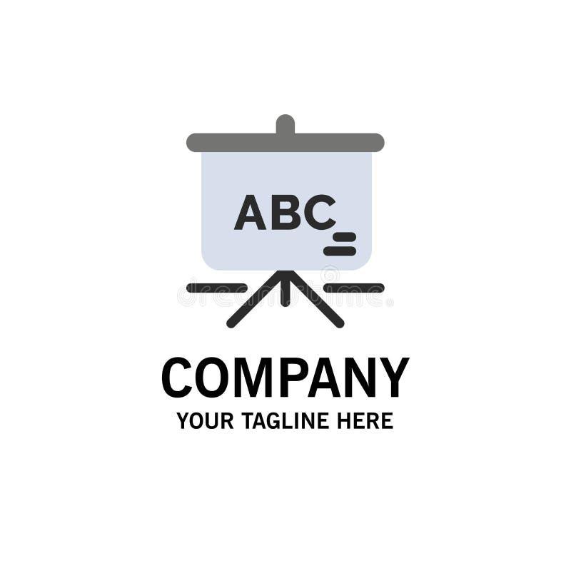 Torba, edukacja, Schoolbag logo Biznesowy szablon p?aski kolor ilustracji