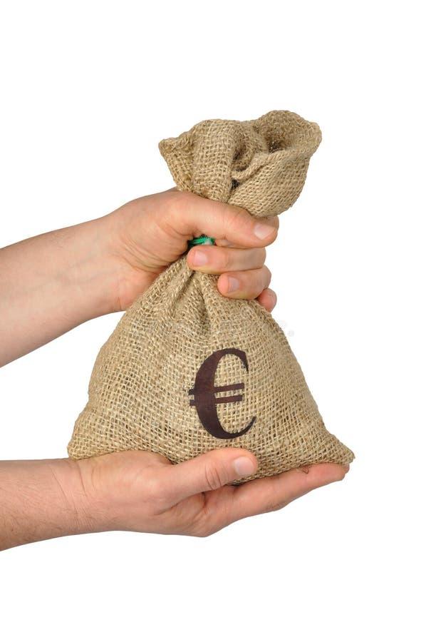 torba euro zdjęcie stock