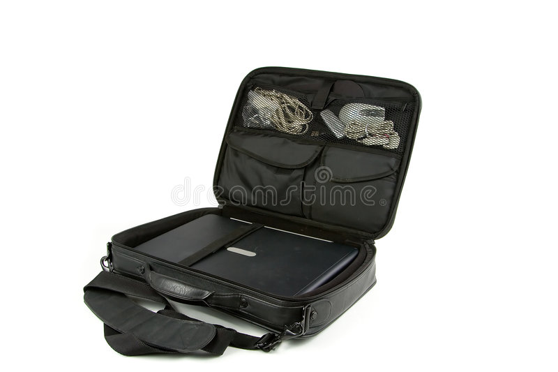 torba laptop fotografia stock
