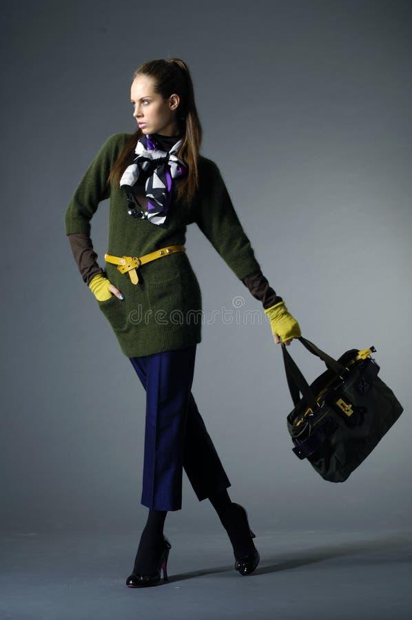 torba model zdjęcie stock