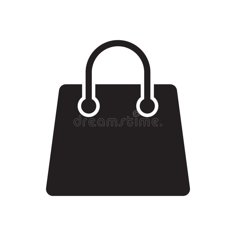 Torba na zakupy ikona royalty ilustracja