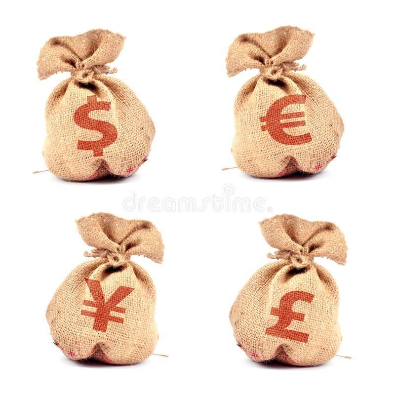 torba pieniądze zdjęcie royalty free