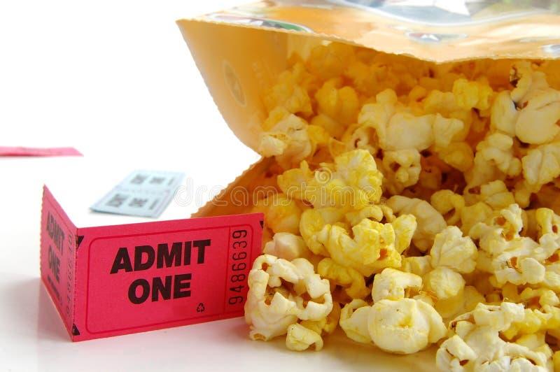 torba popcornu fotografia stock