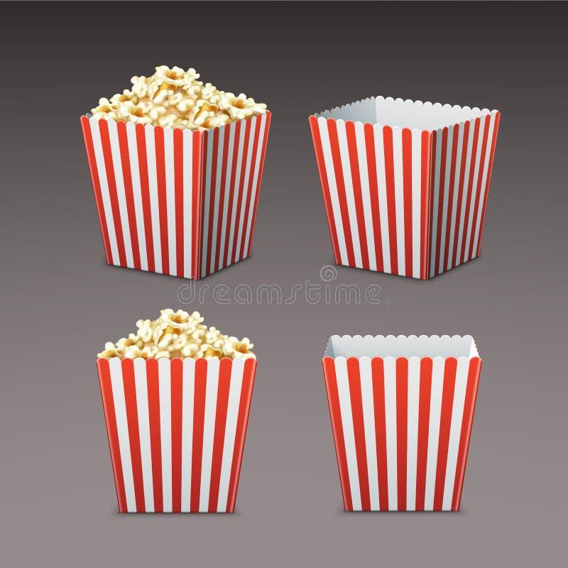 torba popcornu royalty ilustracja
