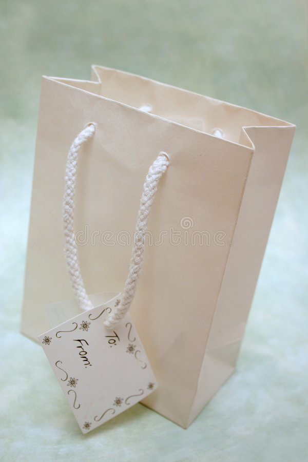 torba prezent zdjęcie stock
