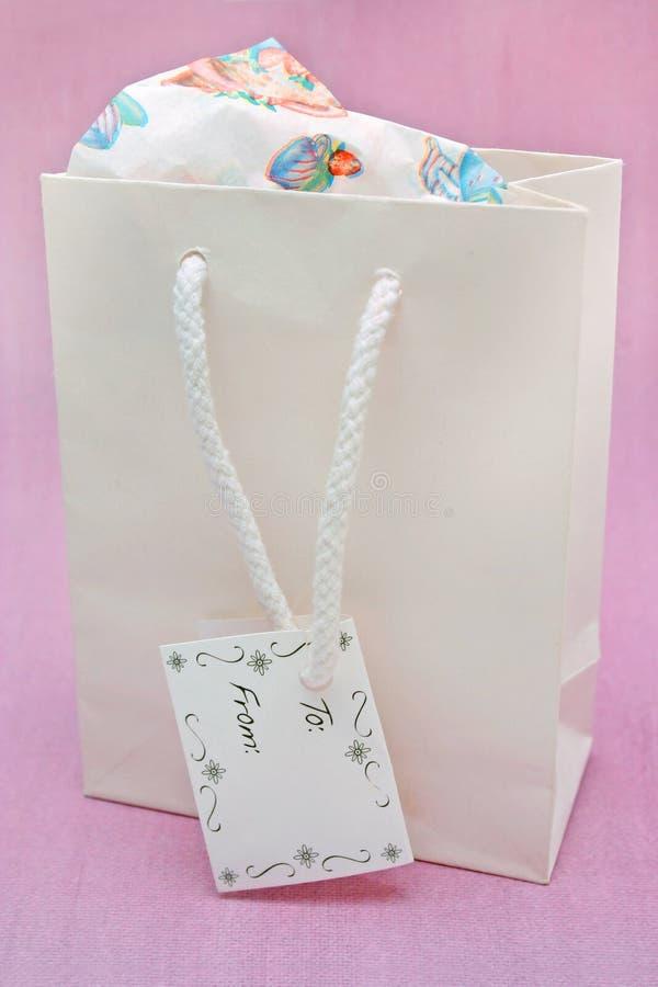 torba prezent fotografia stock