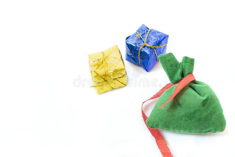 torba prezenty zdjęcie stock