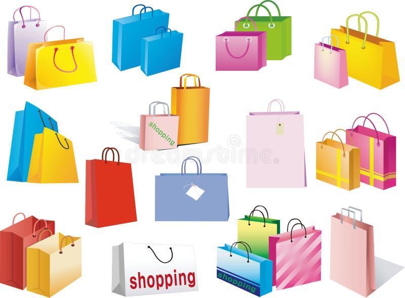 torba zakupy royalty ilustracja