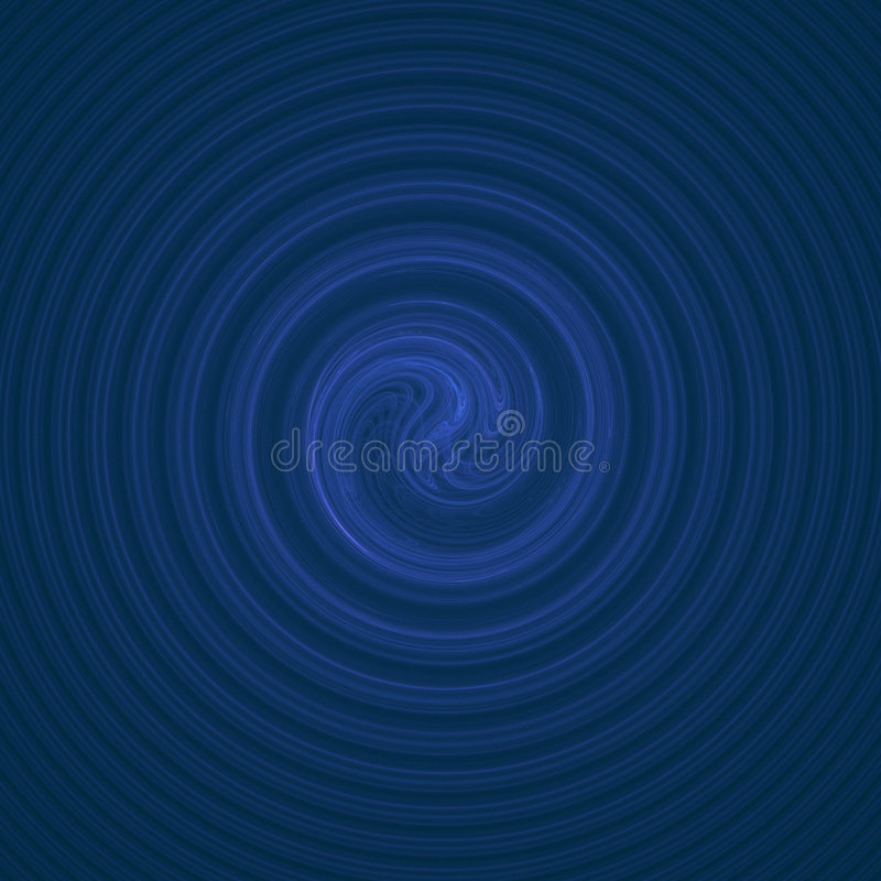 Torbellino del agua azul libre illustration