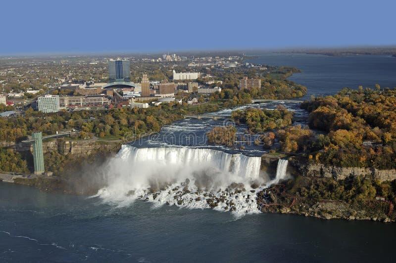 Torbellino del Niagara Falls en Ontario foto de archivo libre de regalías