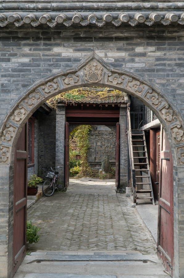 Torbogen Xian China stockbild
